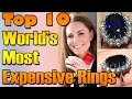 World's Most Expensive Rings   Nfx Fashion Tv