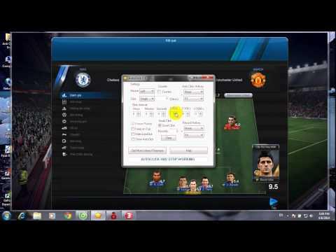 Hướng dẫn sử dụng phần mềm Auto Click cho fifa online 3 by Anh Quân Pro