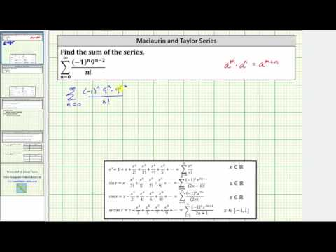 Find the Sum of an Infinite Series Using a Known Power Series (e^x)