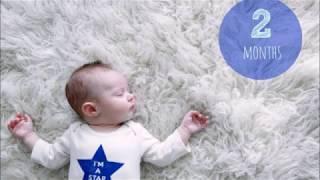الشهر الثاني من عمر الطفل