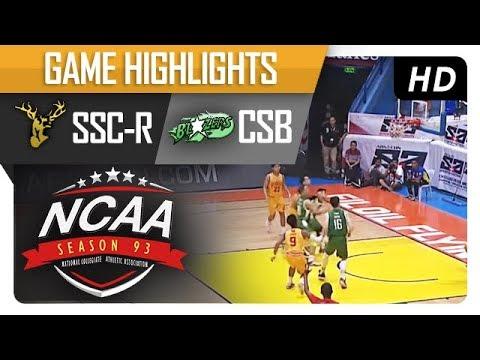SSC-R vs. CSB | NCAA 93 | MB Game Highlights | September 21, 2017