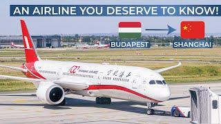 TRIPREPORT | Shanghai Airlines (ECONOMY) | Budapest - Shanghai Pudong | Boeing 787-9