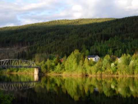 Norwegian landscape.