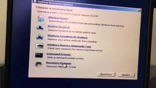 HOW TO FACTORY RESTORE YOUR WINDOWS COMPUTER!