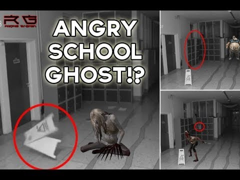 School Ghost Caught On CCTV Camera!?