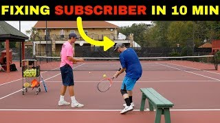 10 minutes that will TRANSFORM your BACKHAND! Tennis lesson