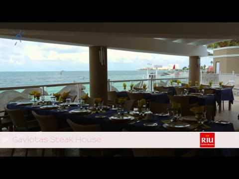 Riu Caribe Cancun - Restaurants and Bars | SignatureVacations.com
