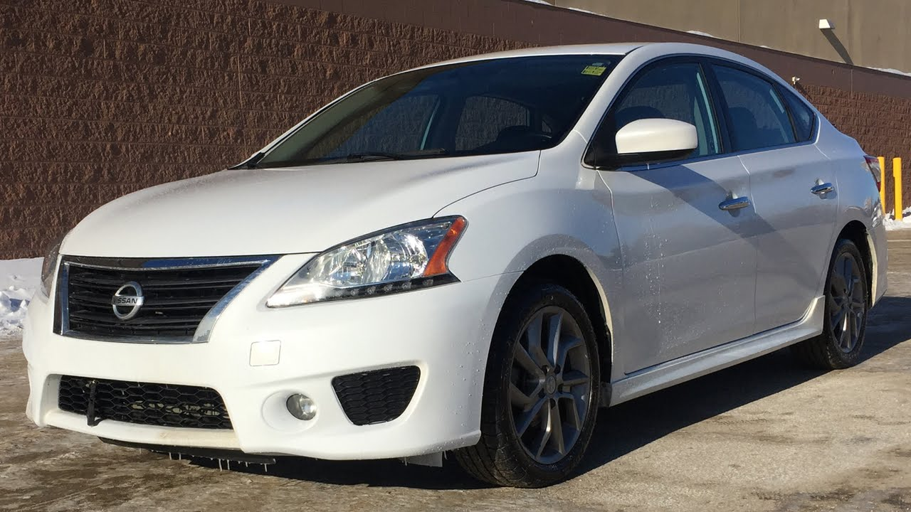 2013 Nissan Sentra Sv Sr Package Navigation Heated