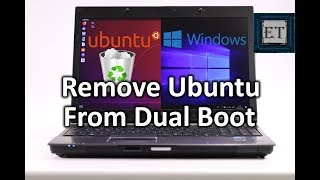 How to Remove Liฑux (Ubuntu) From Dual Boot in Windows 10
