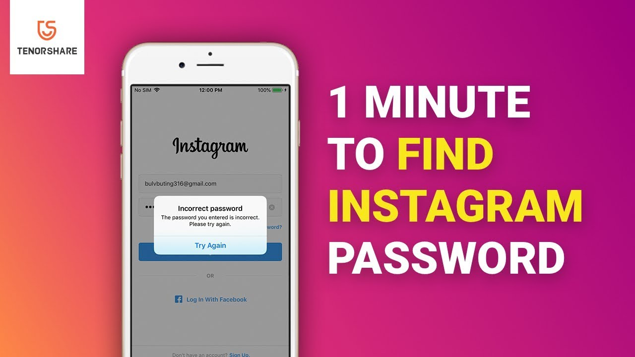 How to Recover Instagram Password without Email or Phone Number