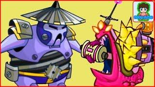 Игровой Мультфильм для детей про БОИ и СРАЖЕНИЯ Tower Conquest