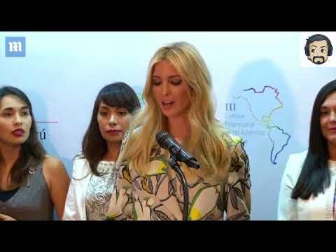 Ivanka announces initiative to help Latin American women