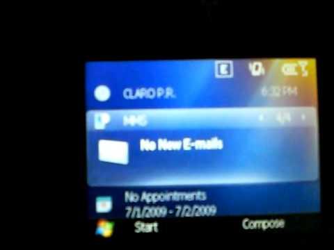 Windows Mobile 6.5 on Motorola Q9H