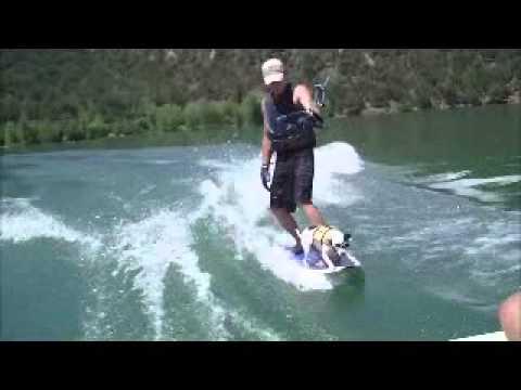 8 Ball wakesurfing with Scott Kennett