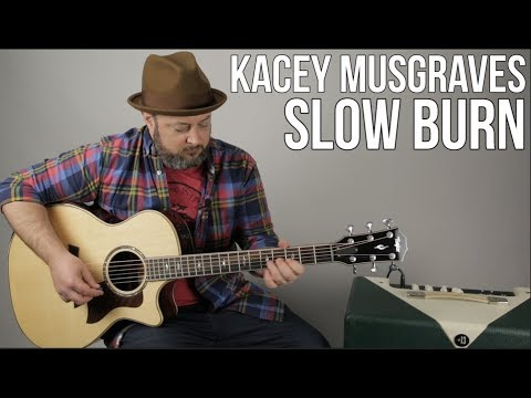 Kacey Musgraves - Slow Burn - Guitar Lesson - Easy Acoustic