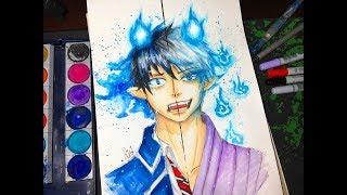 Okumura Rin - Drawing/Çizimi (Ao no Exorcist)