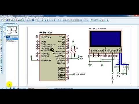 Interfacing PIC microcontroller with SSD1306 OLED | mikroC Projects