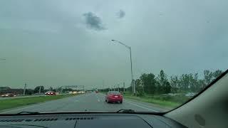 Stormchasing in Ames, Iowa