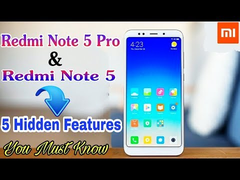 5 New Hidden Features Of Redmi Note 5 and Note 5 Pro (Interesting Feature) 😱