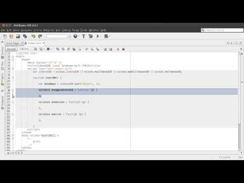 IndexedDB: Tu base de datos local en HTML5