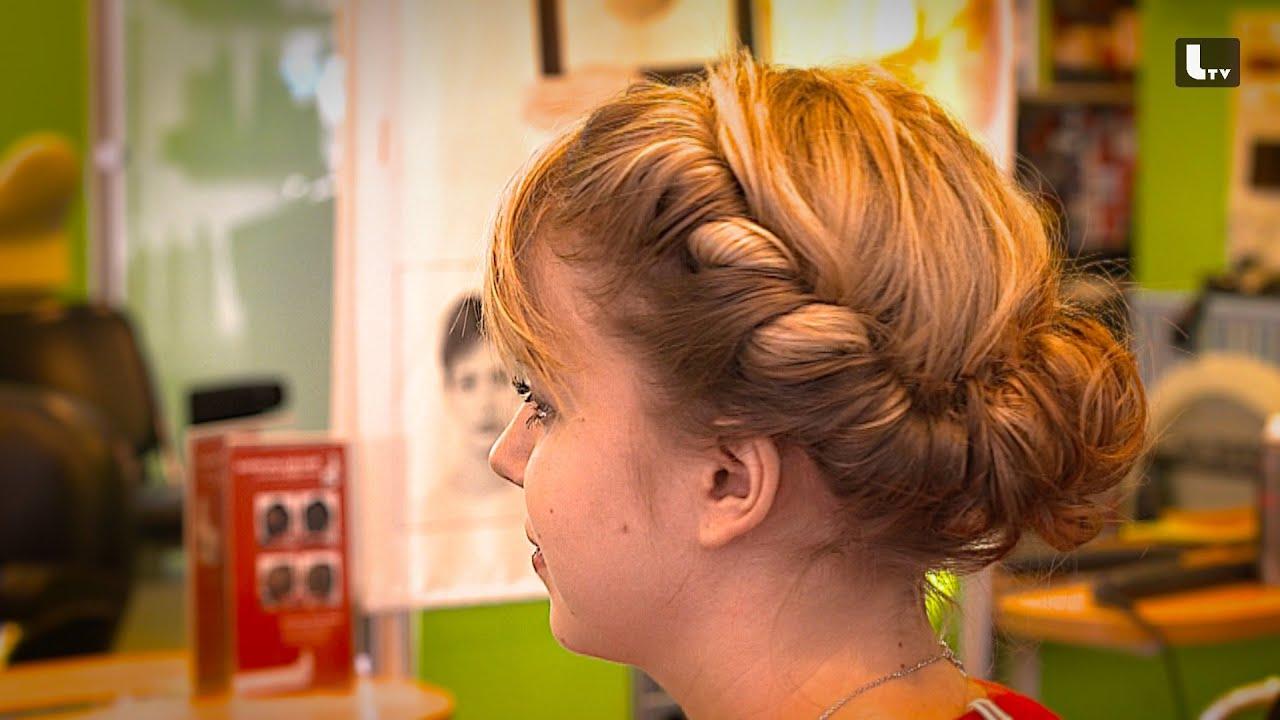 Hochsteckfrisur Einfach Selber Machen Hair Tutorial Lifestyle