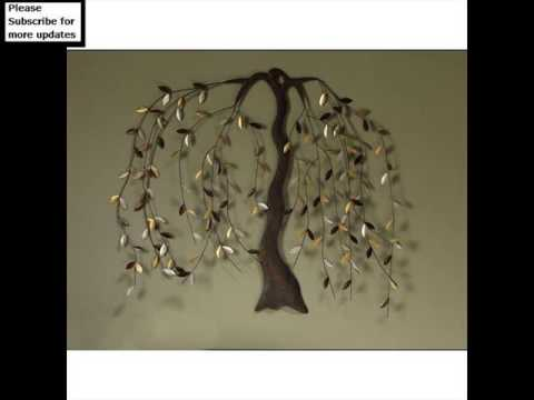 Metal Wall Decor Leaves | Metal Tree,Leaf Wall Art