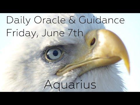 Aquarius - Daily Tarot Advice - Friday 6/7/19 - YouTube