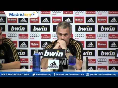 Rueda de prensa completa con Jose Mourinho, Aitor Karanka, José Morais, Rui Faria y Silvino Louro,