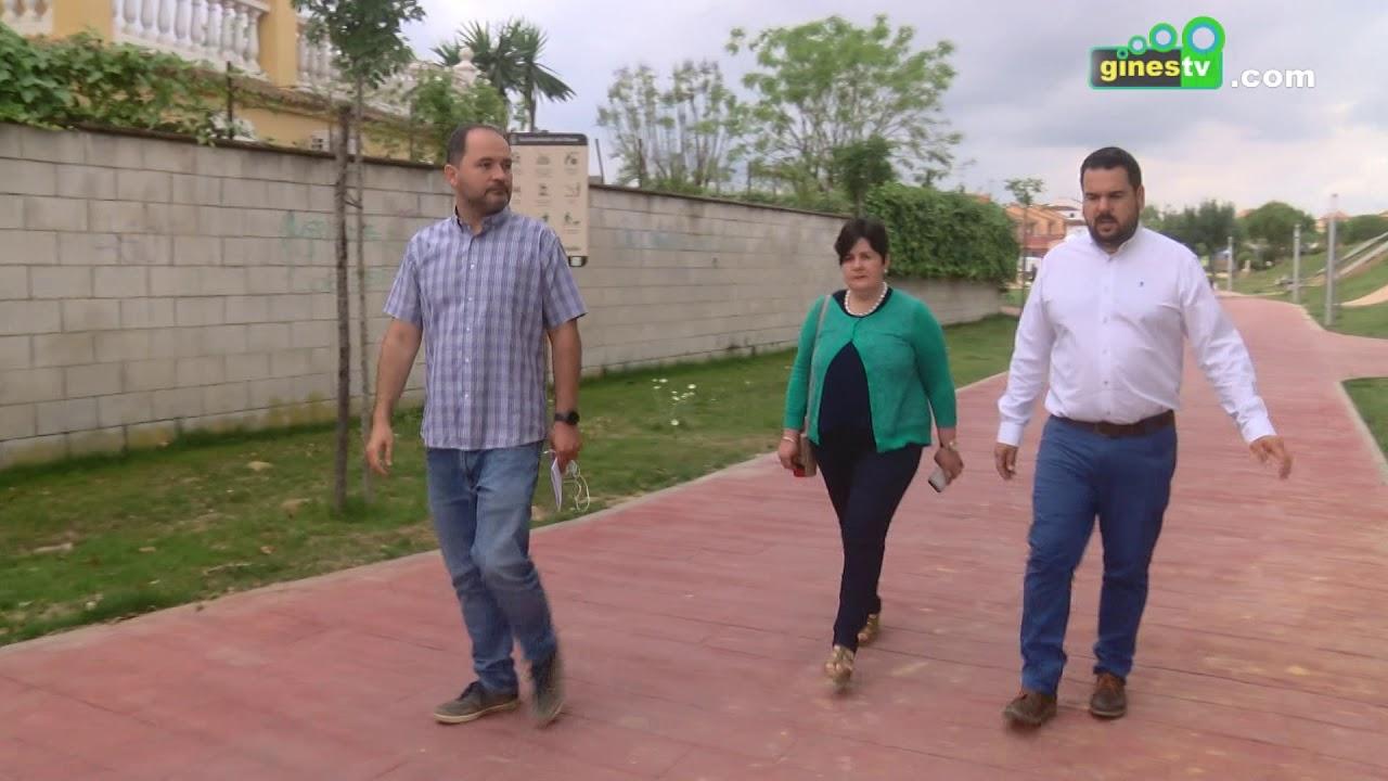 Ayuntamiento y Diputación estudian nuevas e importantes inversiones para los próximos meses en Gines