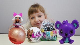 Кукла лол и мини хетчималс