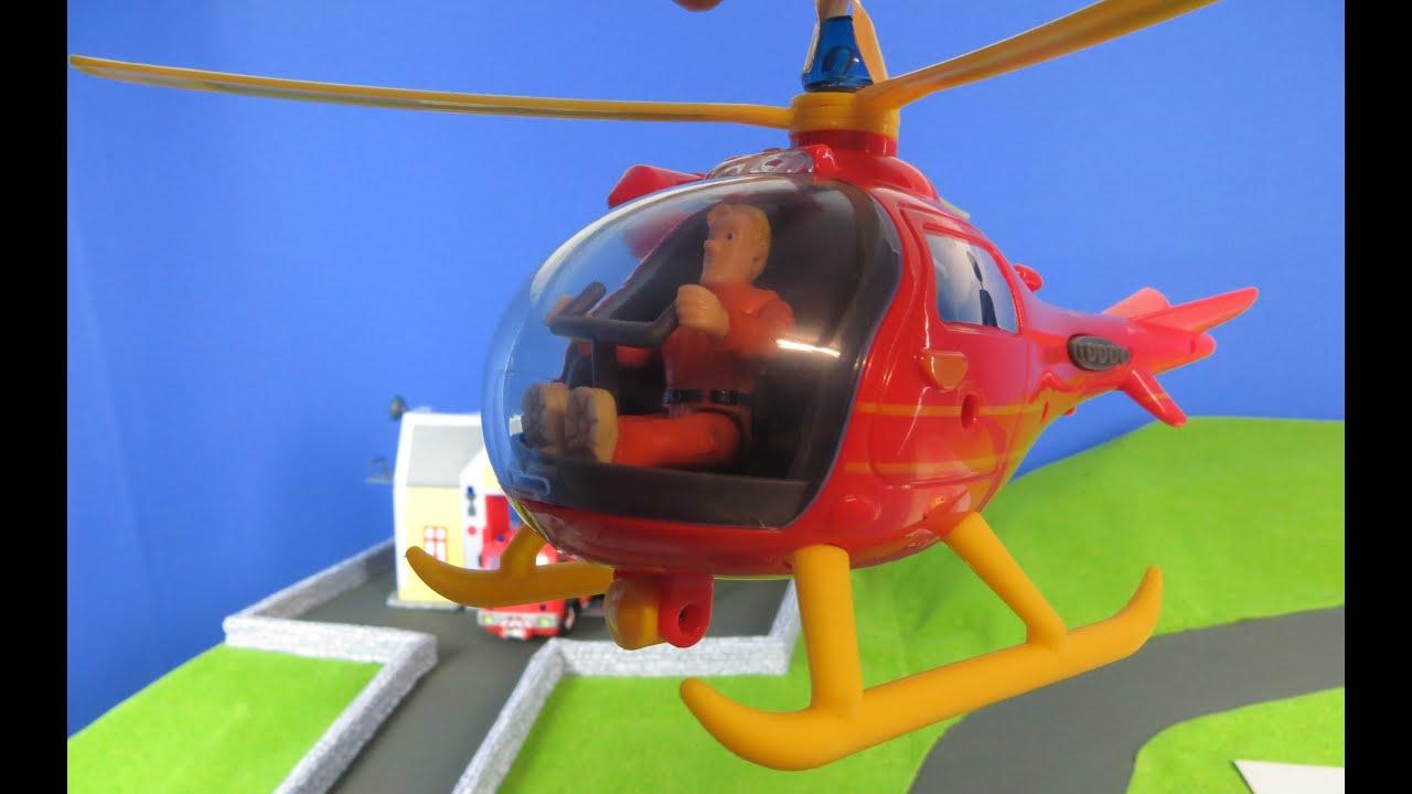 Feuerwehrmann Sam Unboxing deutsch Hubschrauber Wallaby