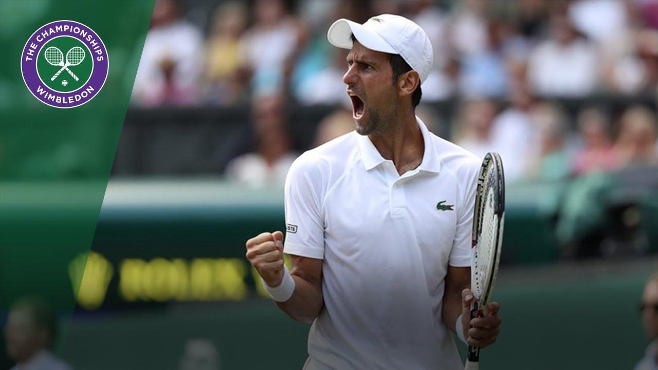 Novak Djokovic through to semi finals | Wimbledon 2018