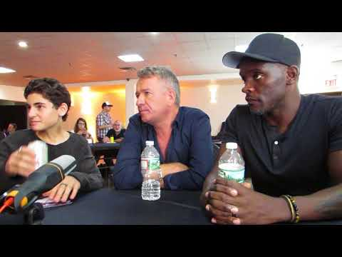 NYCC 2017: Gotham David Mazouz Sean Pertwee and Chris Chalk