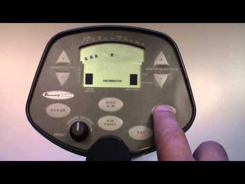 Bounty Hunter Discovery 3300  Introduction And How To Video Manual