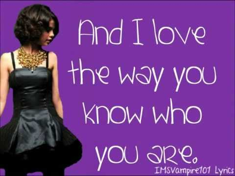 Selena Gomez - Naturally [ Lyrics ]