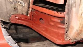 ВАЗ 2108 Ремонт кузова  Часть 1(Была куплена гнилая 08мая, вдвоем с братом закапиталили кузов не на продажу, а для себя. Видео с двух частей...., 2013-08-28T12:35:23.000Z)