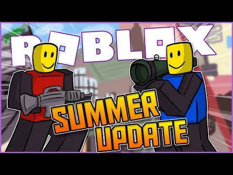 so i tried the new roblox arsenal summer update... (it's sick)