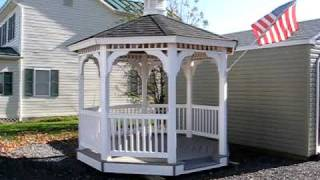 Gazebos, Amish Vinyl Gazebo, Gazebo Kits, Virginia, Va