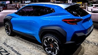 FIRST LOOK!!!NEW SUBARU VIZIV ADRENALINE - AWESOME SUV CONCEPT
