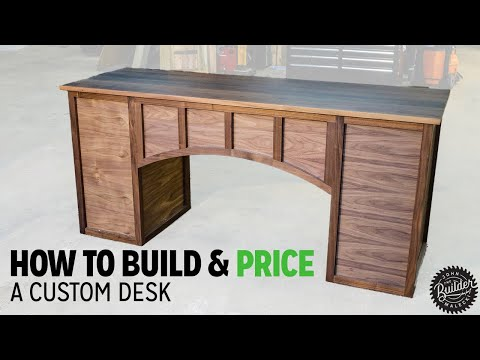 How To Build A Modern Office Desk