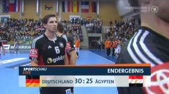 Deutschland 30:25 Ägypten (Handball WM 2011 Schweden/Letzte Minute)