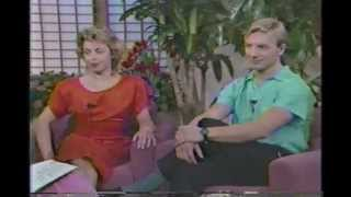 Jayne Torvill Christopher Dean  - 1986 interview with Maria Shriver
