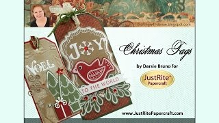 JustRite Papercraft Christmas Tags by Darsie Bruno