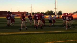 NSU Football Scrimmage 2-Minute Drill Magic