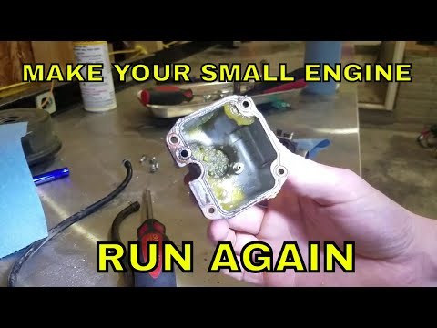 How To Clean A Dirty Carburetor.