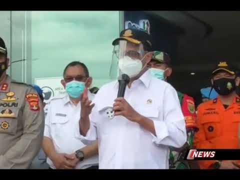 Menhub Tinjau Arus Balik di Pelabuhan Bakauheni Lampung Selatan