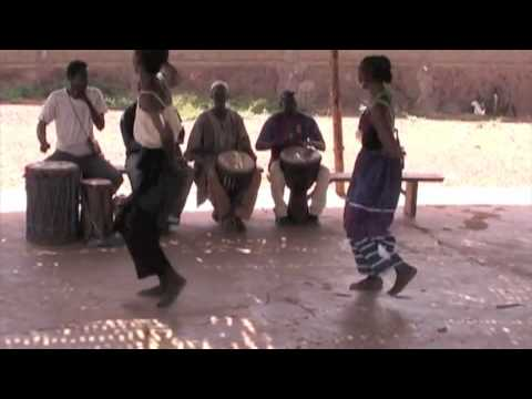 Madan (Djagbe) pt.2 Mali African dance and drum lesson and choreograph
