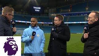 Raheem Sterling talks Man City's dominant win   Premier League   NBC Sports