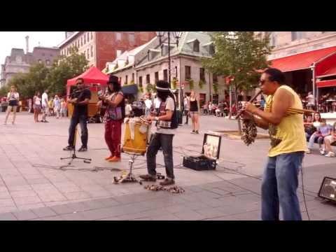 Canto Nuevo - Musique des Andes (Place Jacques Cartier, Montreal)