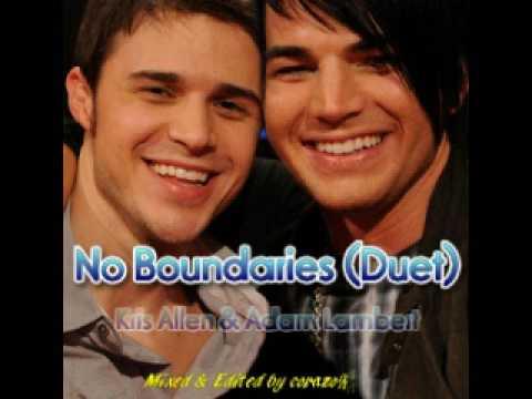 Kris Allen & Adam Lambert - No Boundaries (Duet)